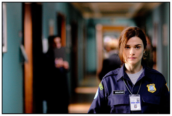 Rachel Weisz as Kathy Bolkovac in The Whistleblower