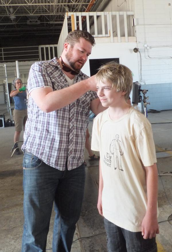 Tennyson hair cut