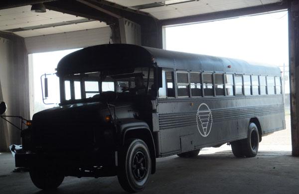 Transformed bus