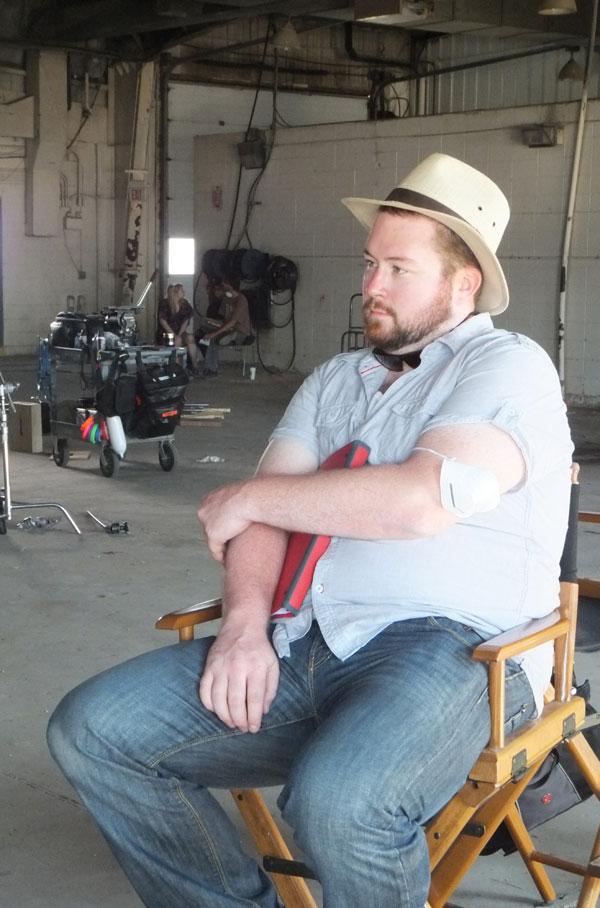 Scott Belyea contemplating next shot
