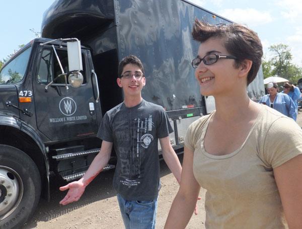 Tom and Rebeka