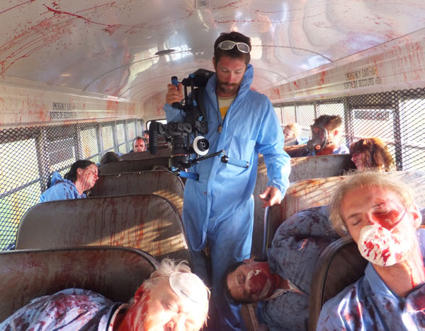 Carnage on bus