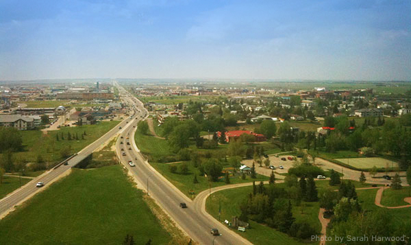 Grande Prairie looking west