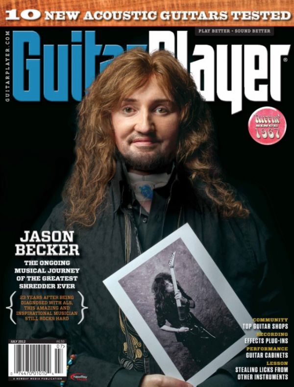Guitar Player cover
