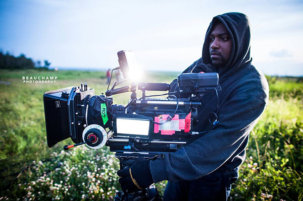 Ryan Skeete and the RED ONE camera