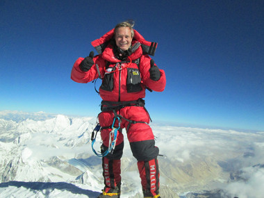 Horacio summit of Everest