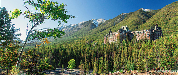 Banff Springs Hotel Summer